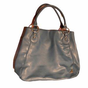 Roxy Leather cobalt blue large capacity Bag Purse